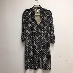 Vintage Diane Von Furstenburg Silk Dress 8